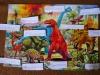 Dinosaury s menovkami