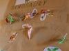 Náleziská dinosaurov označené skladačkami a obrázkami.