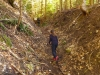 Cesta do sedla Dolný Šturec