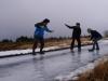 Takýto ľad sme mali na prístupovej ceste k Farme!