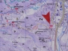 Mapa v Kremničke pri autobusovej zastávke