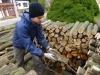 Ukladáme drevo