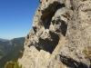 Vápencové skaly pod Ohnišťom