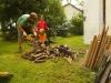 Pílenie dreva