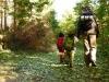 Cesta lesom k Panskému sedlu