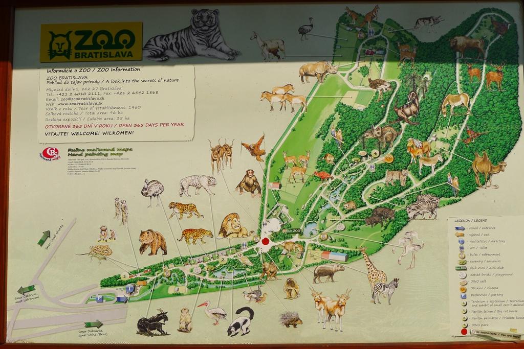 fcb25b3a7 Zoo Bratislava - orientačný plánik